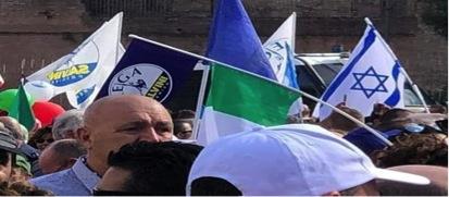 Manifestazione del centrodestra a Roma 19 ottobre