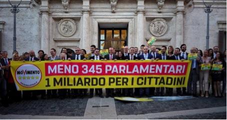 Descrizione: Risultato immagini per ridurre parlamentari