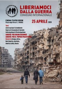 Comunicato sul convegno del 25 aprile 2020