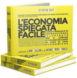 Copertina del libro di economia spiegata facile